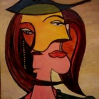 Portret Cubist