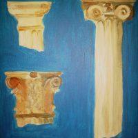 Coloane și capiteluri grecești